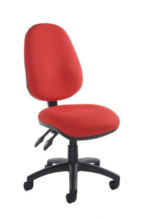 Vardy 100 2 Lever Pcb Operators Chair With No Arms