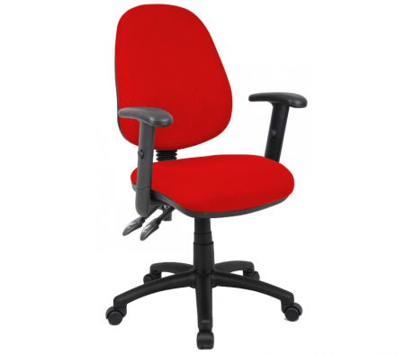 Vardy 100 2 Lever Pcb Operators Chair With Adjustable Arms