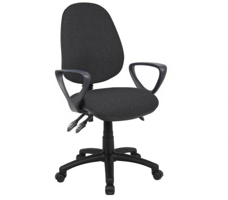 Vardy 200 3 Lever Asynchro Operators Chair With Fixed Arms