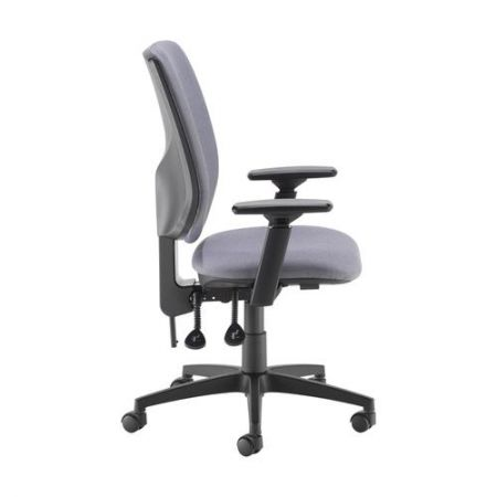 Tegan Fabric Pcb Operator Chair With 3D Arms - Made To Order