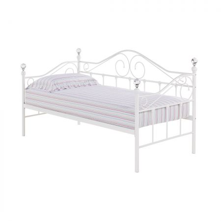 Newcastle Day Bed Only White