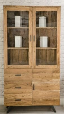 Aubrey Display Cabinet 3 doors and 3 drawers