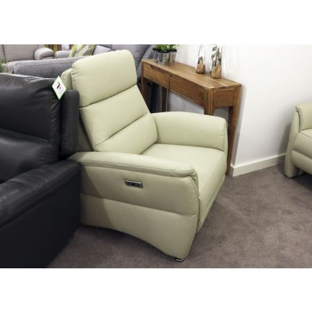 Hunter Electric Recliner Chalk