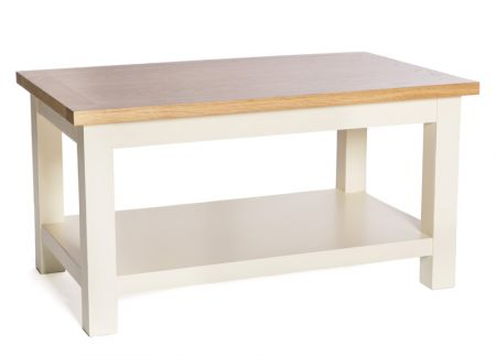 Victoria Coffee Table – Ivory