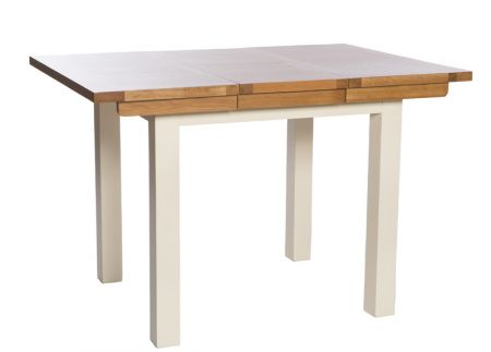 Victoria Extending Table 800mm – 1130mm – Ivory