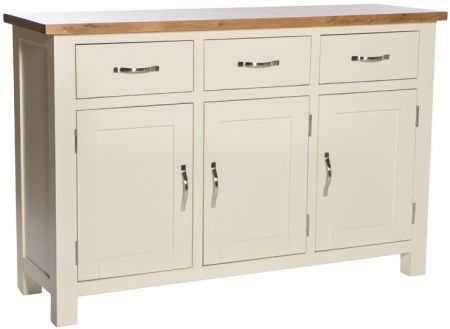 Victoria Large Sideboard – Ivory