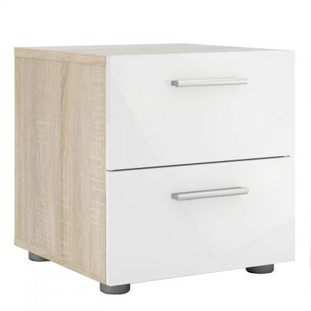 Fabrice Bedside 2 Drawers