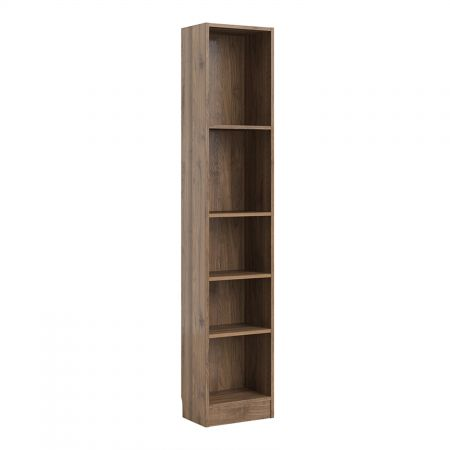 Trident Tall Narrow Bookcase (4 Shelves)
