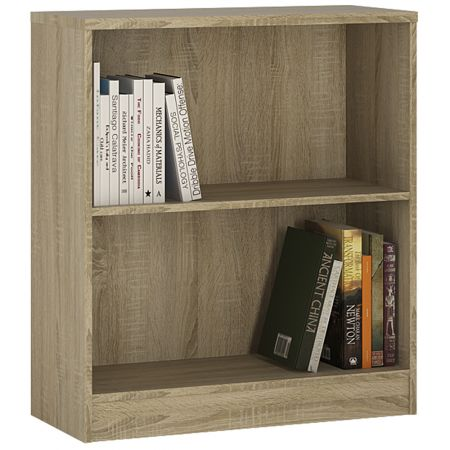 Logi Low Wide Bookcase