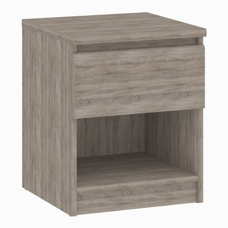 Siannak Bedside - 1 Drawer 1 Shelf Table