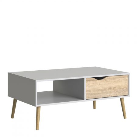 Vindict Coffee Table 1 Drawer 1 Shelf