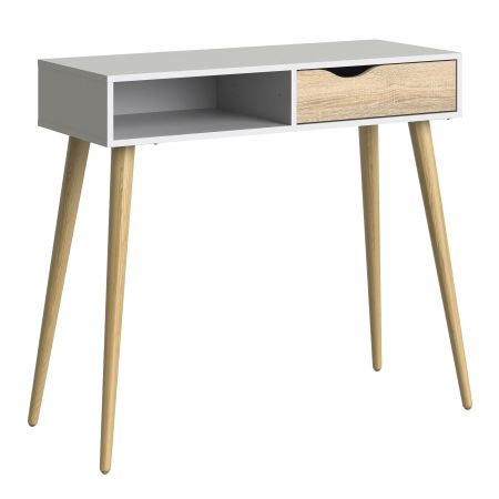Vindict Console Table 1 Drawer 1 Shelf