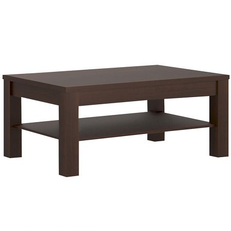 Mercurial Coffee Table With Shelf