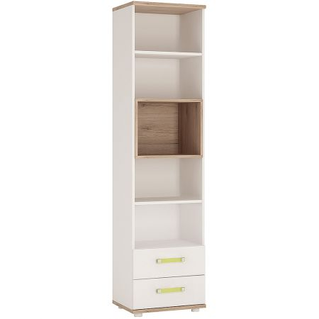 Lil Ones Tall 2 Drawer Bookcase