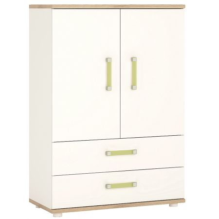 Lil Ones 2 Door 2 Drawer Cabinet
