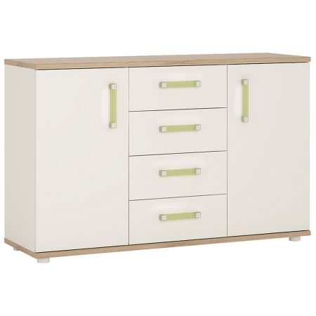 Lil Ones 2 Door 4 Drawer Sideboard