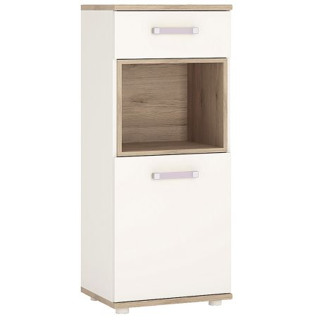 Lil Ones 1 Door 1 Drawer Narrow Cabinet