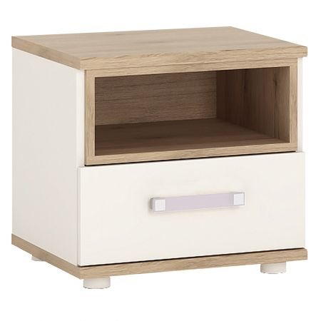 Lil Ones 1 Drawer Bedside Cabinet