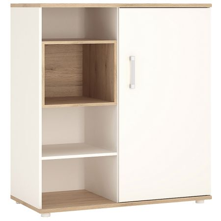 Lil Ones Low Cabinet With Shelves (Sliding Door)