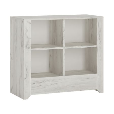 Peace 1 Drawer Low Bookcase