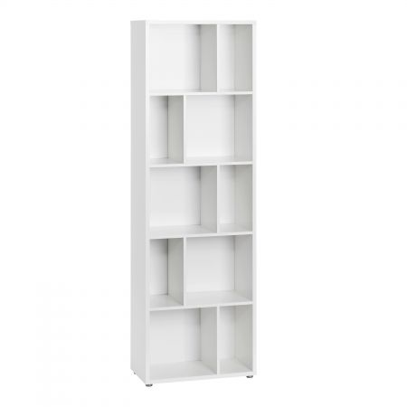 Haze Bookcase 4 Shelves In White