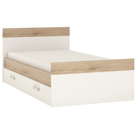 Lil Ones Single Bed With Under Drawer