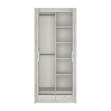 Peace 2 Door 2 Drawer Fitted Wardrobe