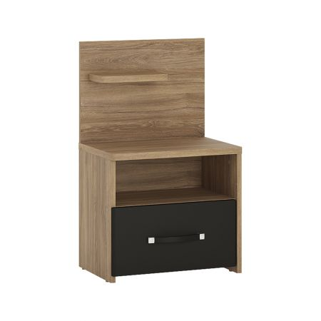 Nice 1 Drawer Bedside With Open Shelf (Lh)