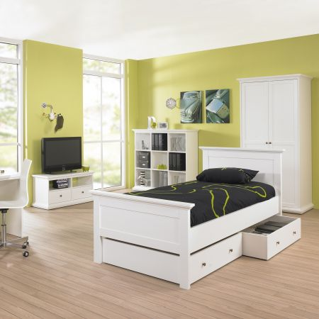 Marsden Underbed Storage Drawer For Single Bed In White