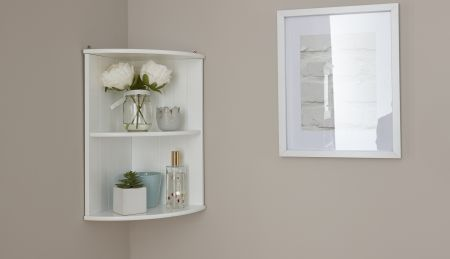 Cardinal Corner Wall Shelf Unit
