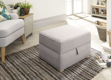 Dorriage Square Storage Footstool