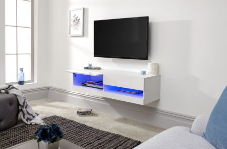Gendal 120cm Wall Tv Unit With Led