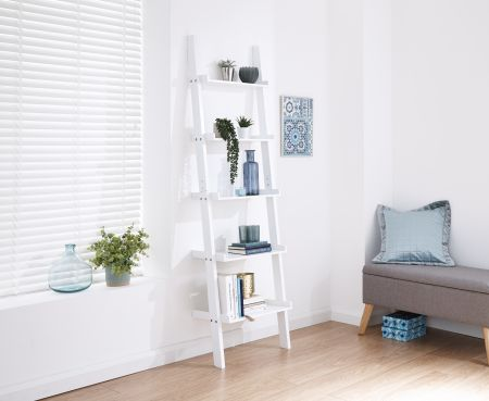 Lilan Ladder Style 5 Tier Wall Rack