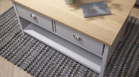 Lanquest 2 Drawer Coffee Table