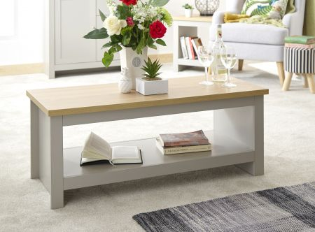 Lanquest Coffee Table With Shelf