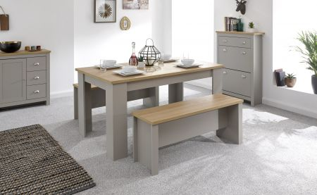 Lanquest 150cm Dining Table & Benches