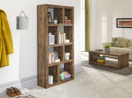 Jesson Tall Open Shelving Unit Mango