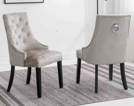 Monarch Knocker Dining Chairs - Set of 2