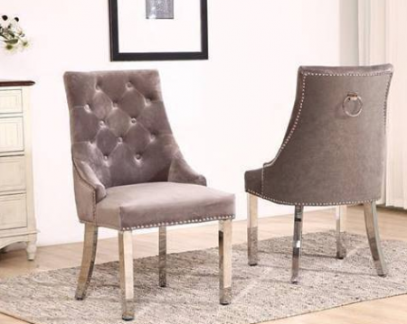 Oxford Knocker Dining Chairs - Set of 2