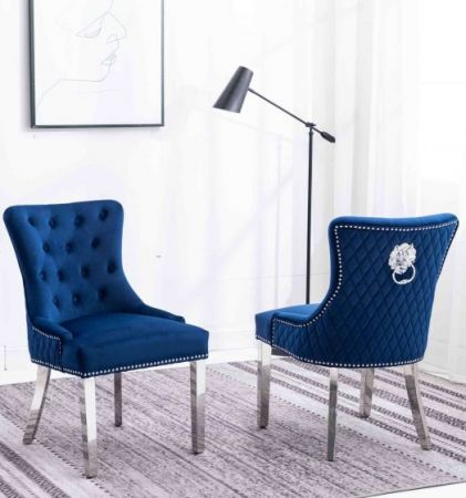 Royal Lion Knocker Dining Chairs