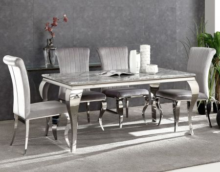 Liarra Marble Dining Table