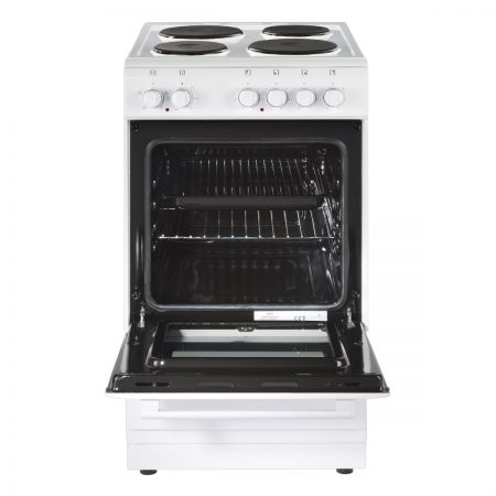 New World NW50ESWHI Electric Cooker with Solid Plate Hob