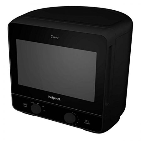 Hotpoint Curve MWH1311B 13L 700W Solo Microwave