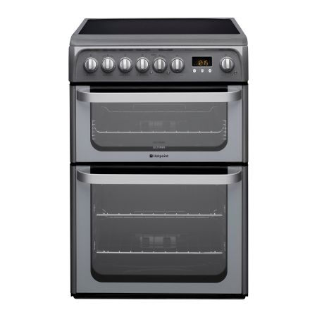 Hotpoint Ultima HUE61GS 600mm Electric Cooker