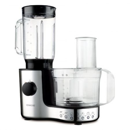 Kenwood FP196 Side by Side 600W 2 Speed & Pulse Food Processor