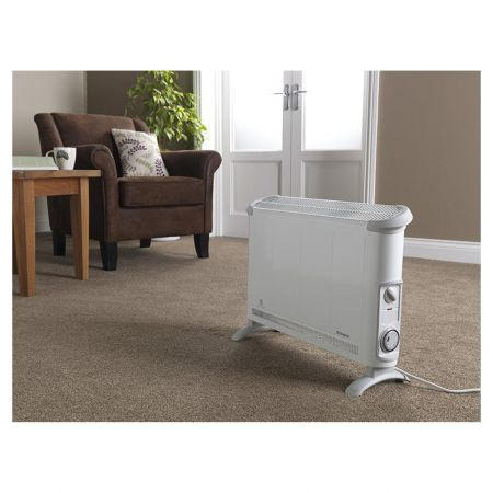 Dimplex 402TSTI 2kW Convector Heater with Timer - White