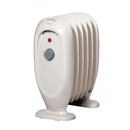 Dimplex OFRB7N 0.7kW ECO Chico Oil Free Heater - White
