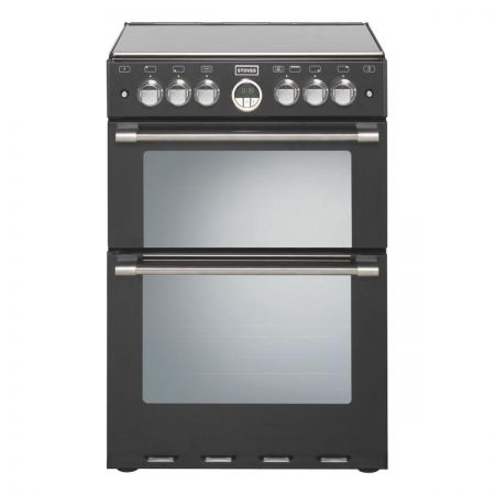 Stoves Sterling 600GBLK Gas Double Cooker