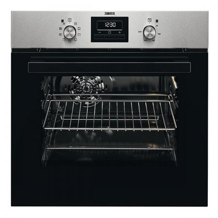 Zanussi ZZB35901XA 60L Built-In Single Electric Oven
