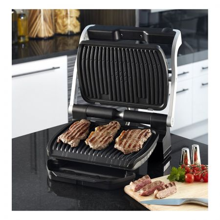 Tefal GC713D40 4 Portion OptiGrill Plus Health Grill